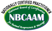 National Board Certification of Animal Acupressure & Massage